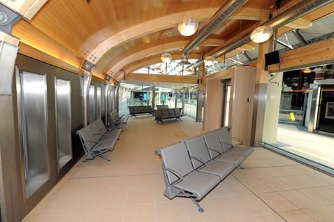 Standard lounge interior