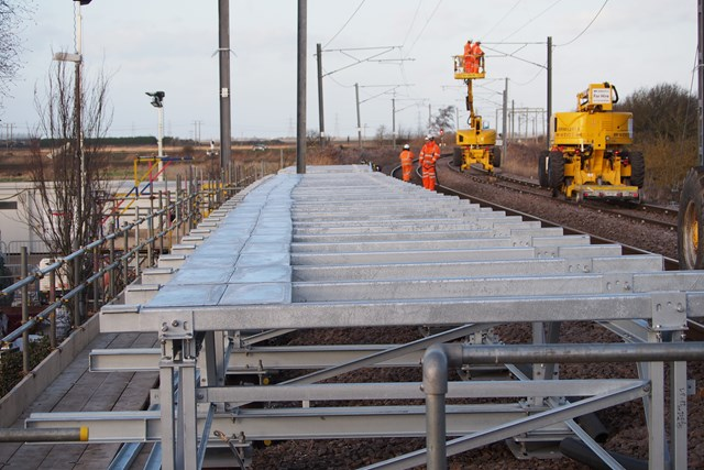 Littleport platform extension frame