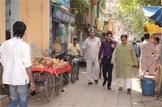 Mr Yousaf visits Nizamuddin restoration project