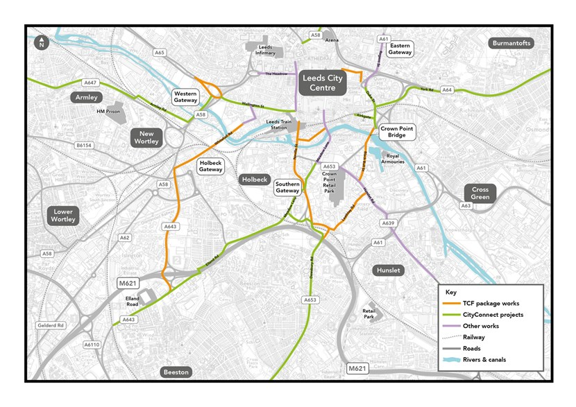 Senior councillors set to discuss more cycling routes to join up the network across the city centre: TCF Cycle routes