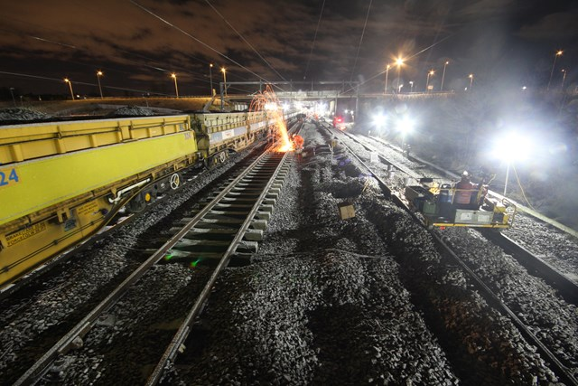Successful completion of £16m investment in Scotland's Railway: Cadder Dec 29