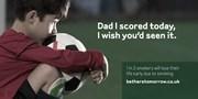 Be There Tomorrow anti-smoking campaign - football: Be There Tomorrow anti-smoking campaign - football