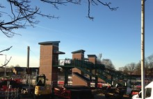 New footbridge and lifts at Leyland station-2