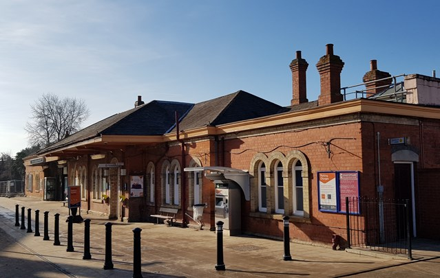 Passengers reminded of Stratford-upon-Avon station changes as £1.5m revamp begins: Stratford-upon-Avon station