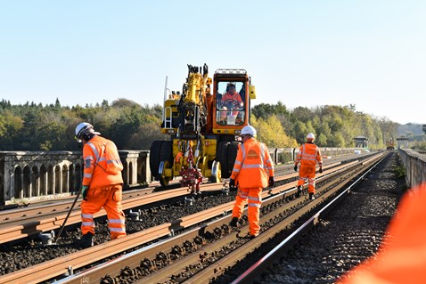 Brighton Mainline Upgrade Ouse Valley Oct 10  (39)