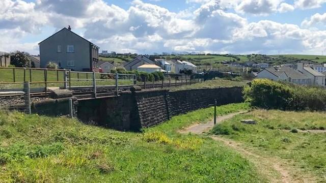 Passengers advised about Cumbrian Coast line upgrade this Halloween: Existing Ropery bridge near Harrington station