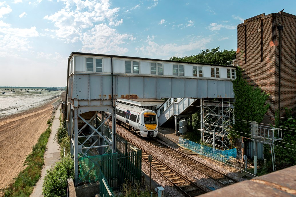 Repair work to take place at Chalkwell station footbridge: Chalkwell station - credit c2c