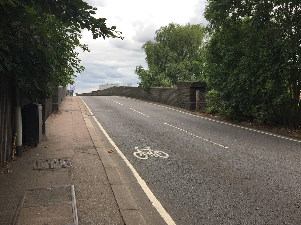 Road closure as Midland Main Line Upgrade continues in Bedford: Ford End Road bridge-2