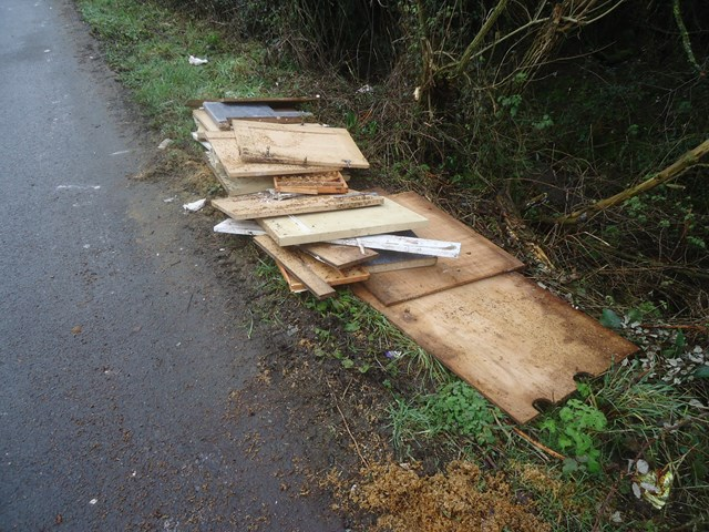 Ripped-out kitchen units removed from Thornwell Road level crossing