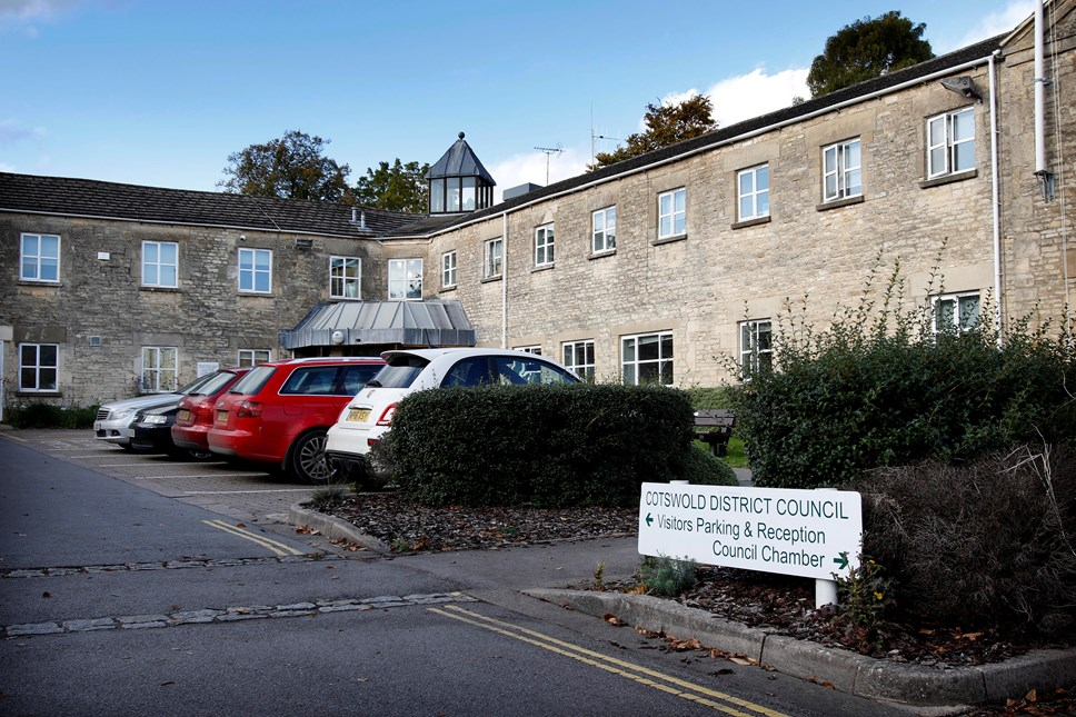 All Cotswold District Council meetings suspended until further notice: Cotswold District Coucil, Trinity Road