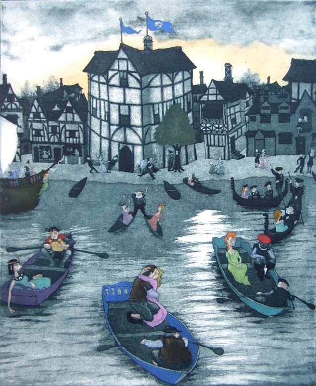 'Shakespeare in Love' by Mychael Barratt