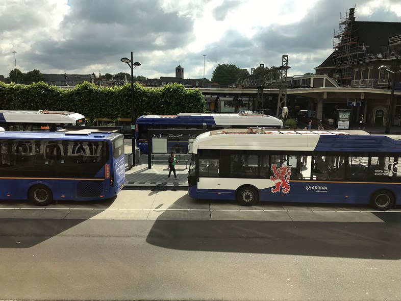 Arriva on track to meet zero emissions target: Maastricht, Arriva Netherlands