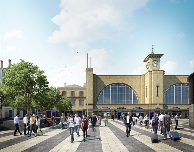 King's Cross Square artist's impression