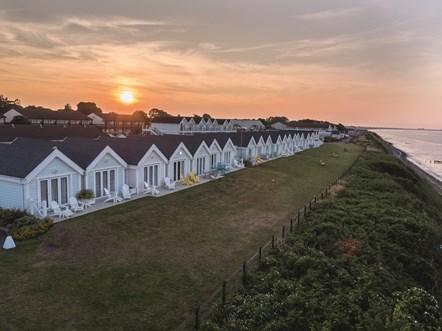Corton Coastal Village Bedroom - Clifftop Lodge