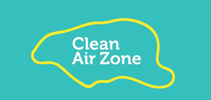 Businesses have received £3.7m to help switch to cleaner vehicles ahead of Clean Air Charging Zone: cazlogo-389623.jpg