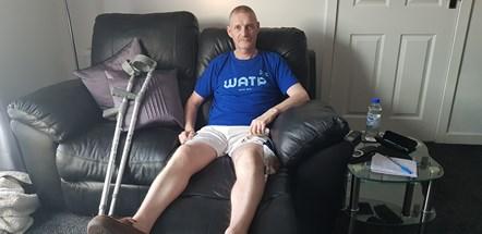 Man crushed by forklift thanks Scottish Ambulance Service: Gordon Taylor