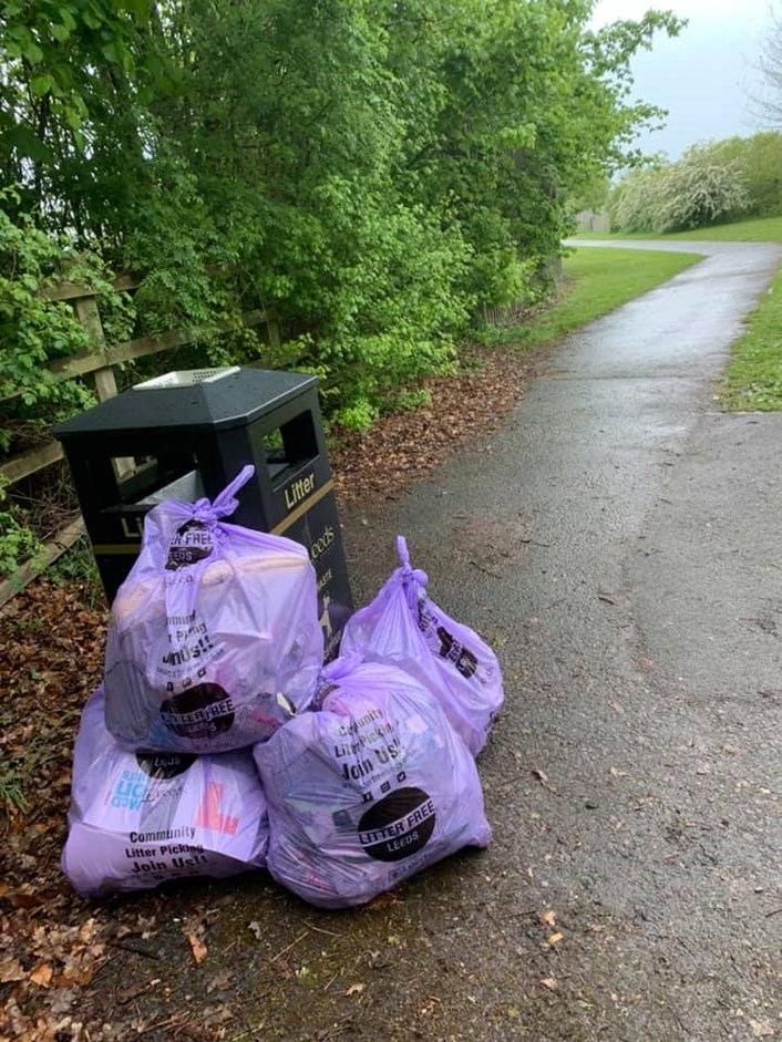 'Leeds Goes Purple' day aiming to make its mark in the fight against litter: Litter Free Leeds.