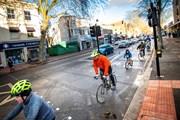 TfL Image - Trial cycle lane along Chiswick High Road