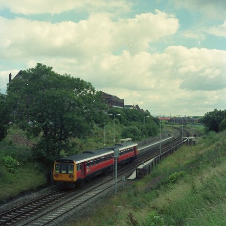 Greater Manchester rail rolling stock 1987