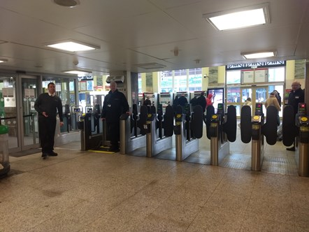 Refurbishment of Cardiff Central set to continue with brand new ticket gates: CardiffGates