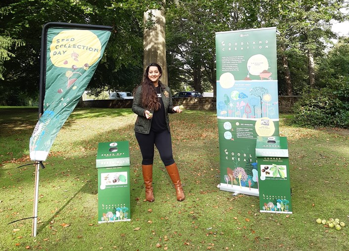 Leeds residents urged to play their part in ambitious tree planting project: Seed collection-2
