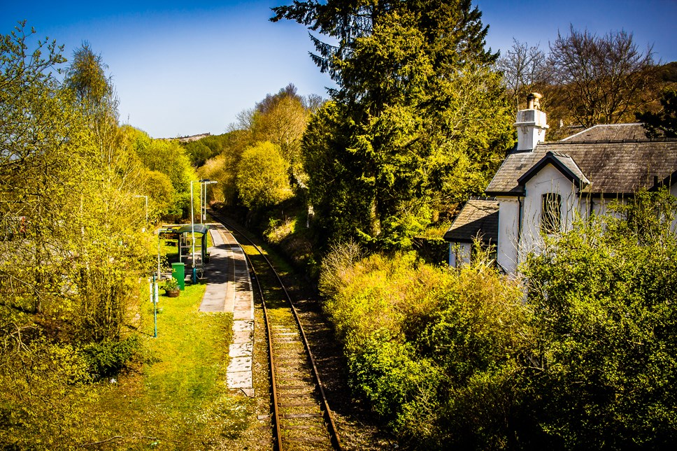 New technology set to transform railway performance on Transport for Wales network: Dolwyddelan station