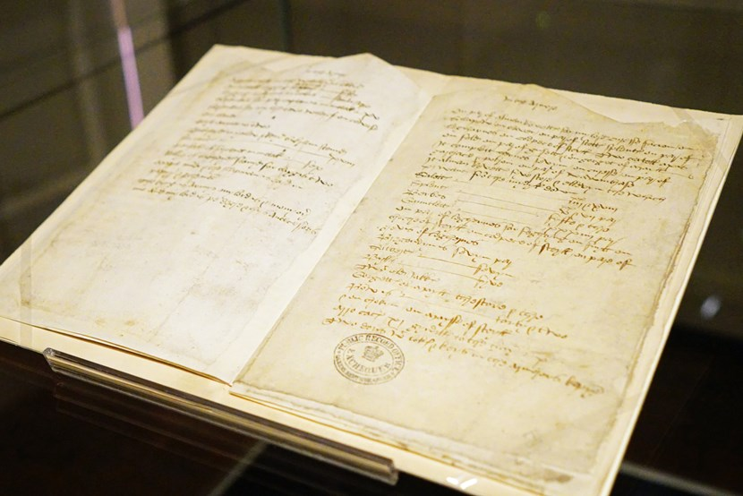 House's 500-year-old inventory displayed for first time: Below the Salt