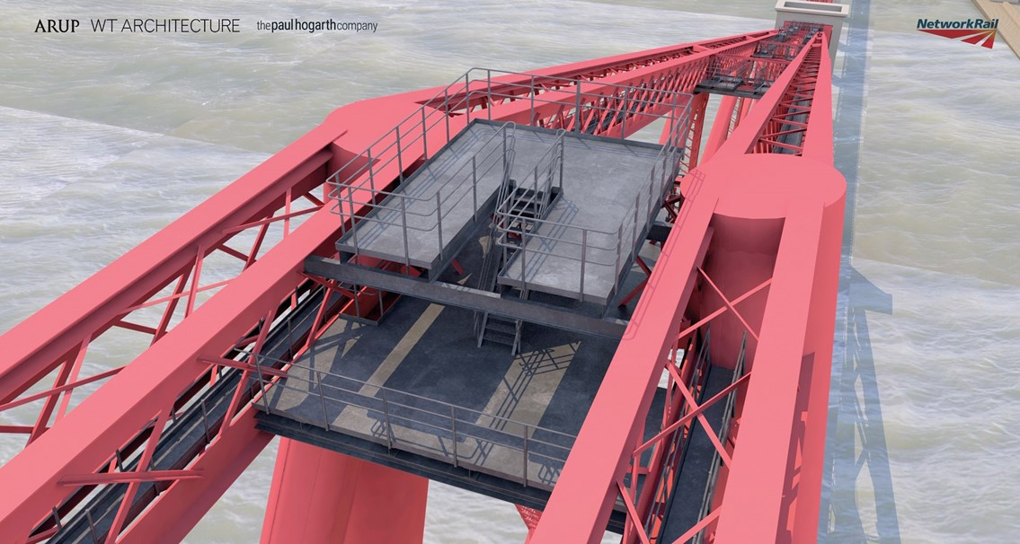 Planning application for Forth Bridge Experience submitted: Forth Bridge Experience platform