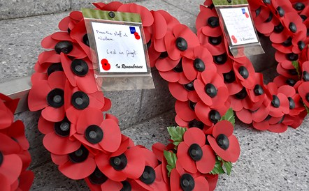 Northern remembers the fallen: Northern wreath