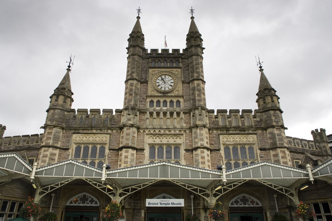 National Rail Passenger Survey results show Bristol Temple Meads is the UK's most improved station: Bristol Temple Meads station