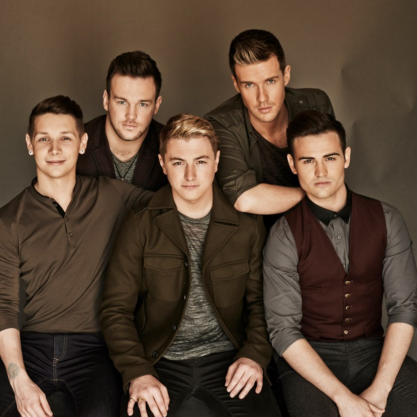 Collabro join musical Leeds Christmas lights switch-on line-up: 140902_collabro_group_01_013.jpg