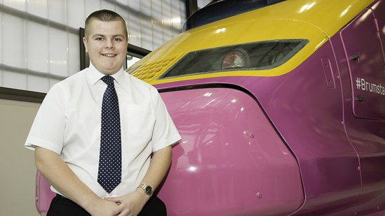 Award win for HS2 apprentice: Chris Sadler Apprentice