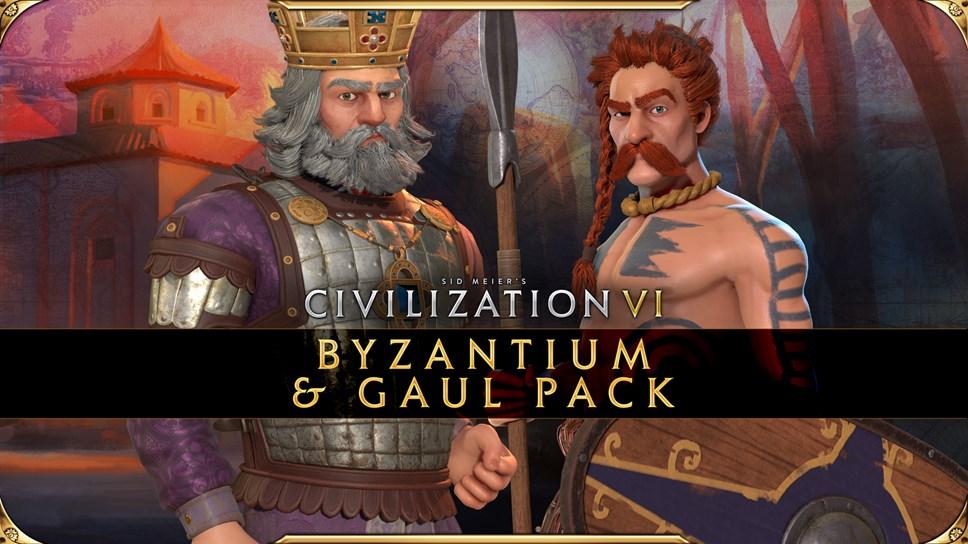 Civilization VI - Byzantium & Gaul Pack - Basil II & Ambiorix
