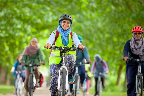 TfL Press Release - 30 community groups awarded funding to get more Londoners on their bikes: Lead image - Hornbeam JoyRiders - Copyright Transport for London