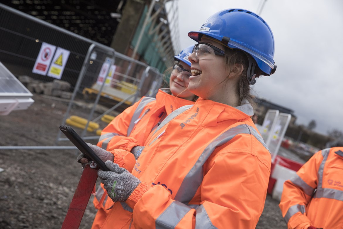 Return to work programme creates new opportunities to work on HS2: Return to work programme creates new opportunities to work on HS2