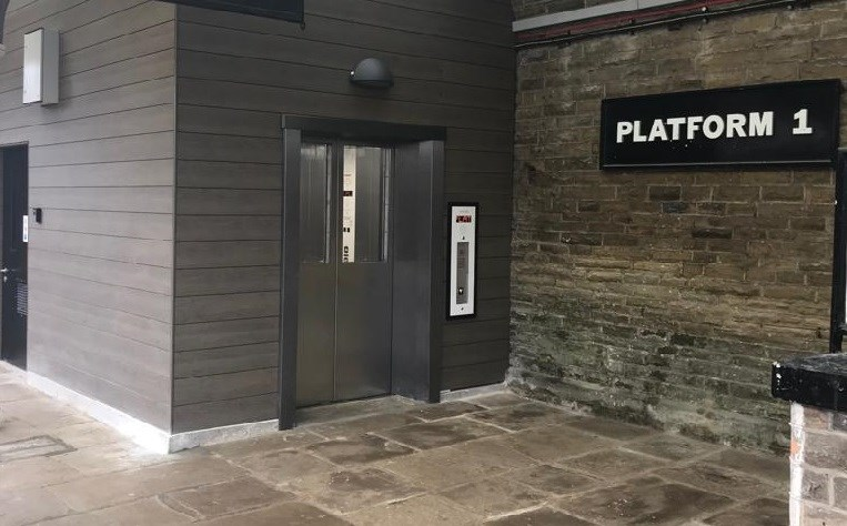 Upgrades at West Yorkshire station will make travelling easier for everyone: New lift at Hebden Bridge