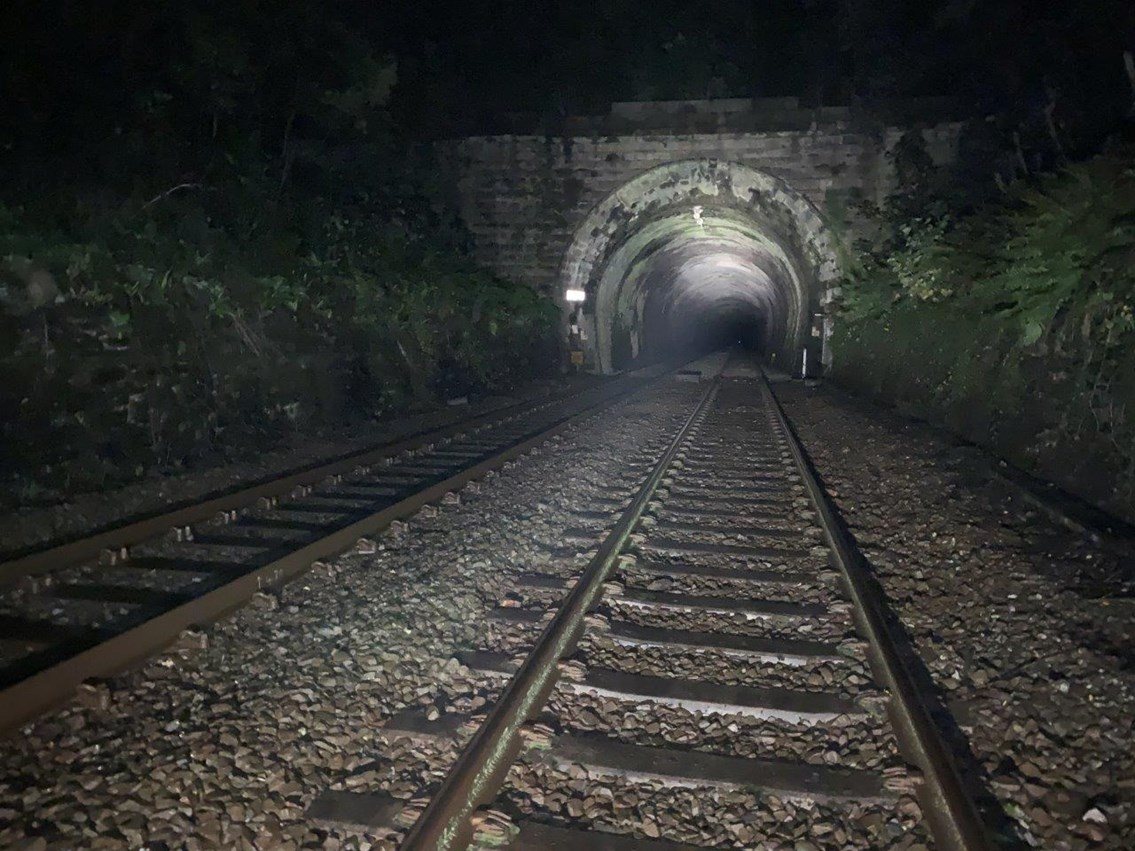 Upholland tunnel repairs to make railway more reliable for passengers: Upholland Tunnel