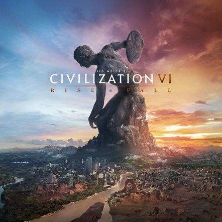 Sid Meier's Civilization® VI: Rise and Fall Available Now: CIV6 RF Art Vertical