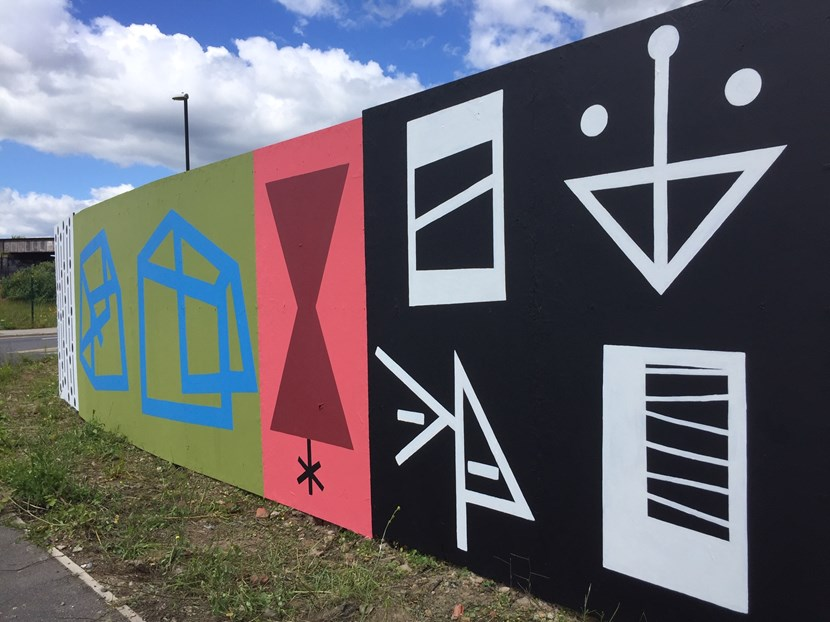 Largest piece of abstract art in the UK  close to completion in south Leeds: image4-651660.jpeg
