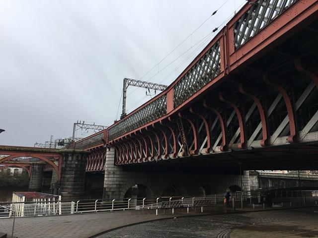 Glasgow Central's Clyde Bridge in line for £13m refurbishment: IMG 1087
