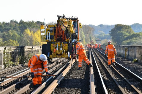 Brighton Mainline Upgrade Ouse Valley Oct 10  (27)