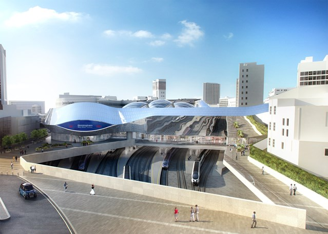 Birmingham New Street's retail offer to double as station transformation nears completion: Birmingham New Street station