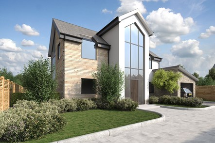 Eco-friendly and simple with plenty of storage: the UK's ideal home revealed: Ideal-Home Exterior-View 17-09-07