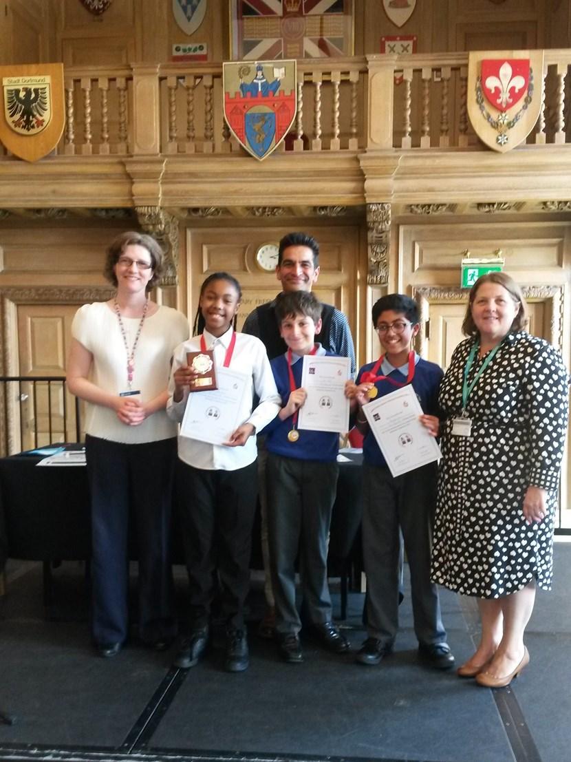 Leeds primary schools debating competition 2017: moorallertonhallwinningteam12017.jpg