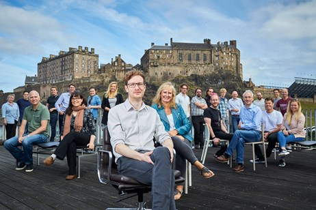 image TVSquared group shot smaller: TVSquared - just one of the ambitious Scottish companies which benefited from SIB support during 2017/18