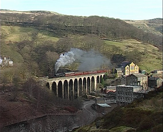 Network Rail breathes new life into West Yorkshire viaduct: Lydgate viaduct wide