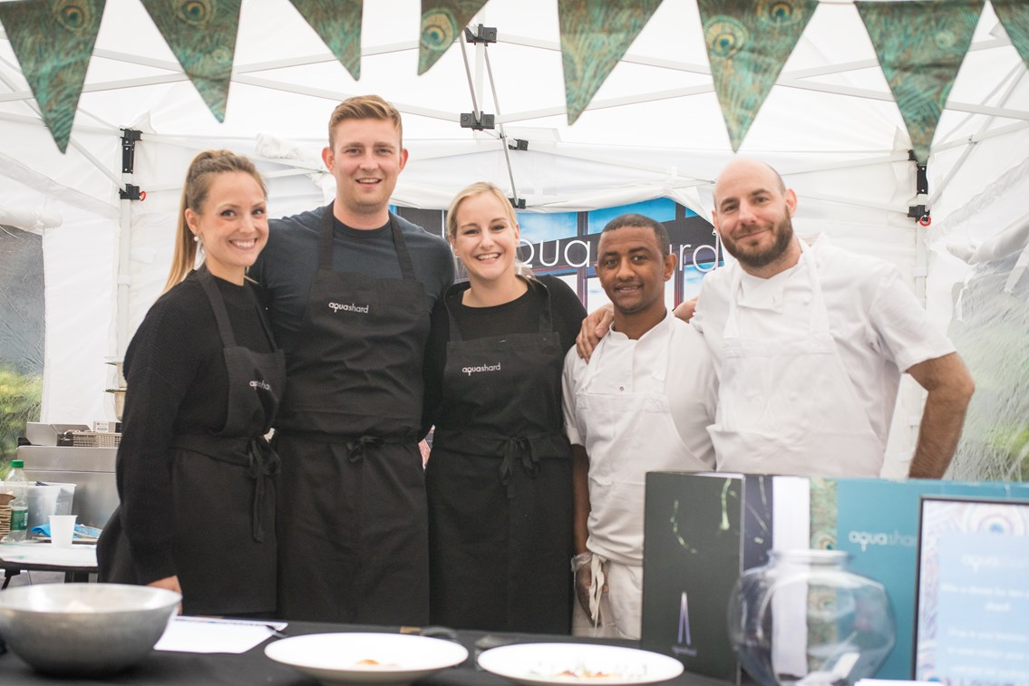 Network Rail and the Thameslink Programme support this year's London Bridge 'Open Kitchen' event: LG9A5063