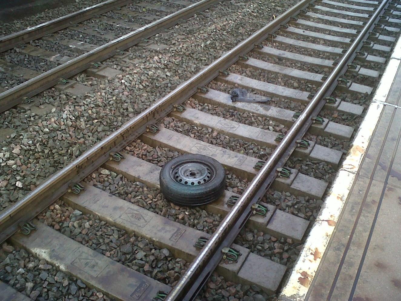 Vandalism - Wilnecote Station