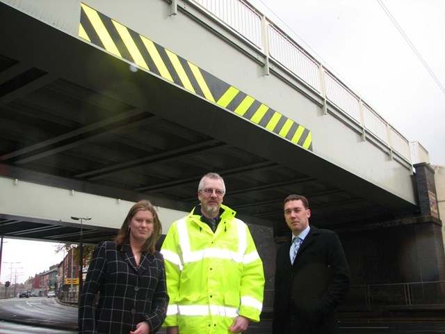 Smithdown Road, Liverpool: Smithdown Road, Liverpool after completion of the £70,000 bridge refurbishment project.