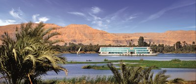 Cruise in five-star luxury to discover Magic on the Nile: SHP MS Amwaj Living Stone EXT 7017